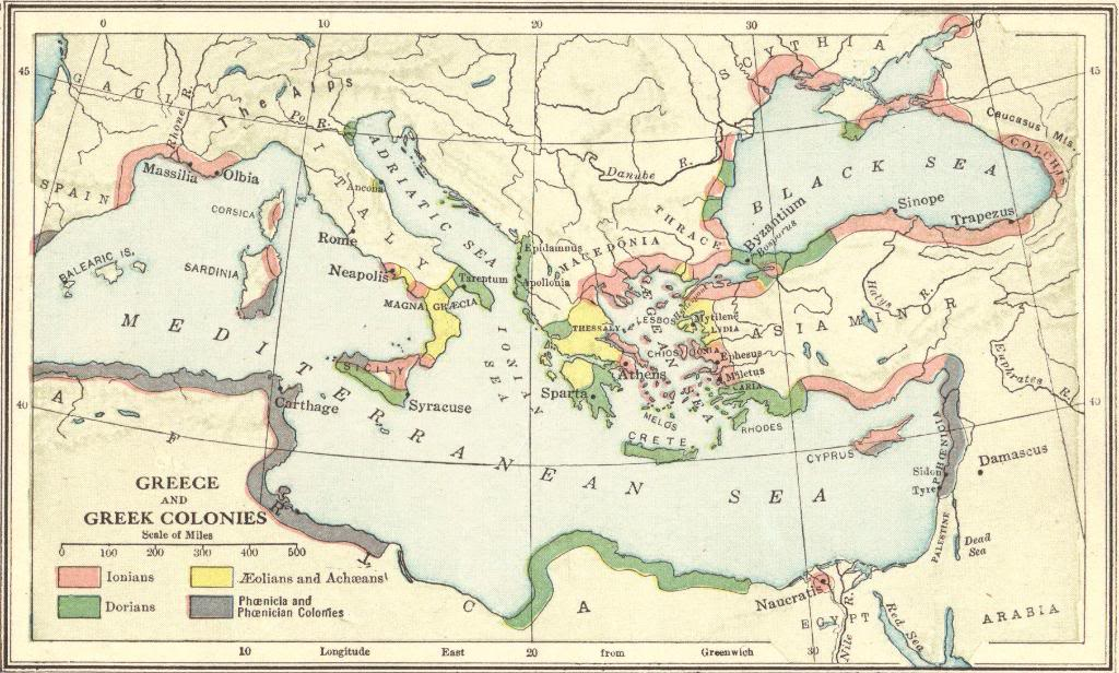 Ancient Greece and the Greek Colonies - Interactive Map Quiz ...