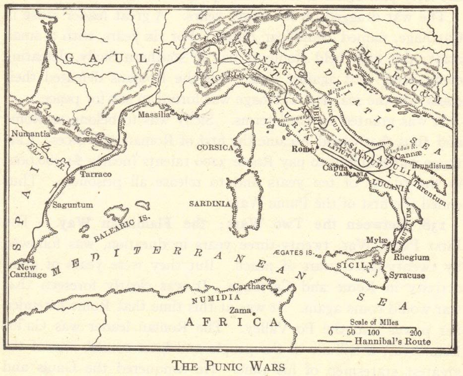 Map Of The Punic Wars Student Handouts. Map Of The Punic Wars. Worksheet. Ancient Rome Worksheet At Clickcart.co