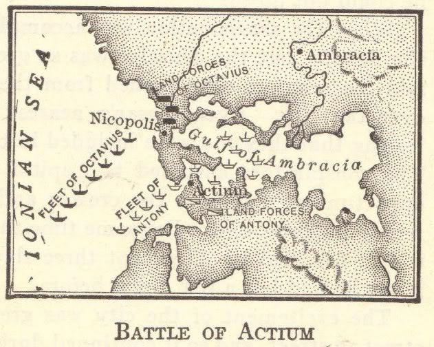 Battle of Actium (September 2, 31 BCE)