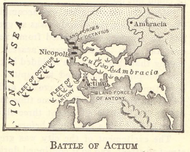 Battle of Actium Interactive Map Quiz for High School World History