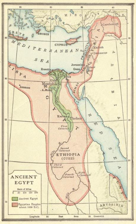 Ancient Egypt Interactive Map Quiz - Test your map skills online for free.