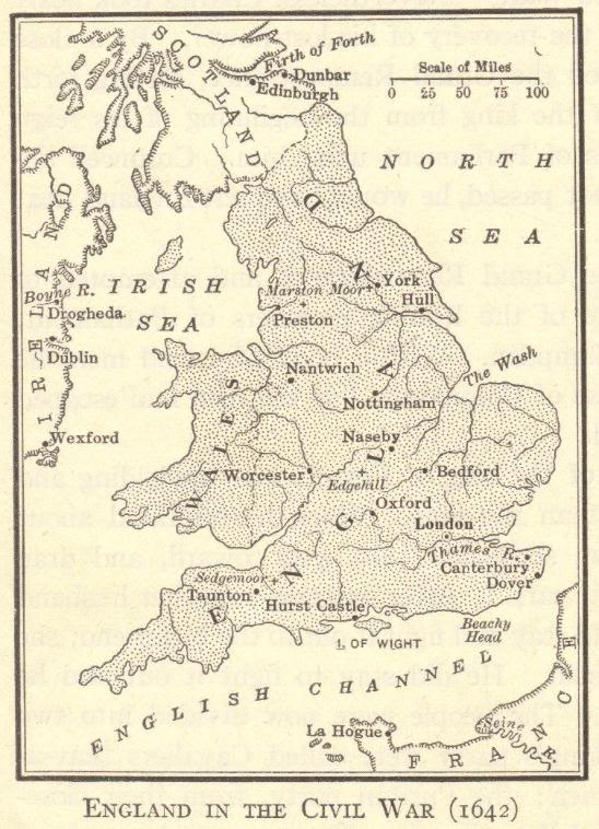 Uk Map Quiz.England In The English Civil War Interactive Map Quiz Student Handouts