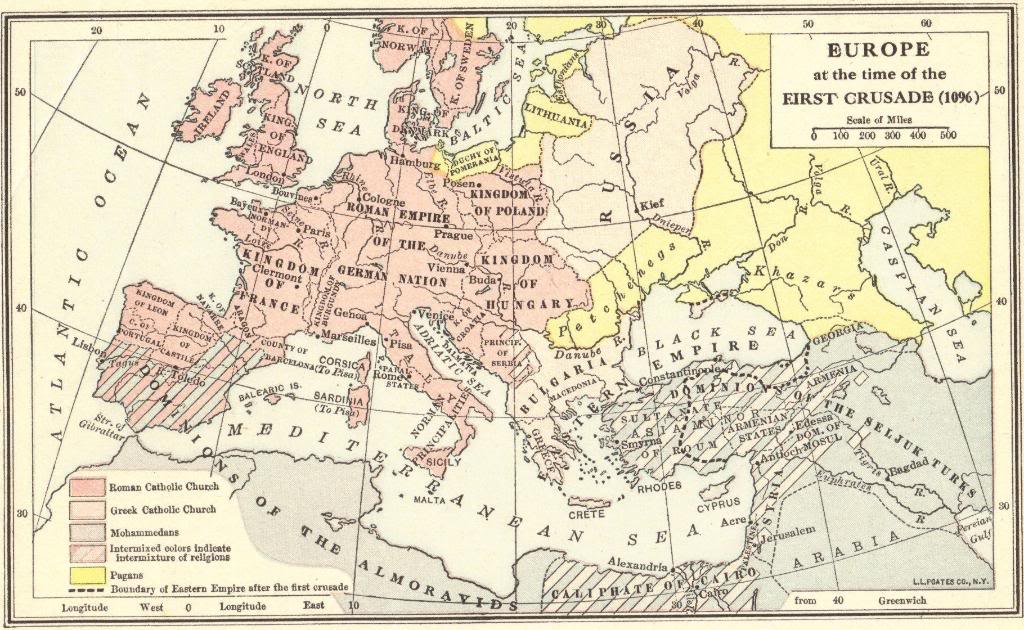 Europe at the time of the first crusade 1096 map quiz base your answers to the questions below on the map and your knowledge of social studies gumiabroncs Image collections