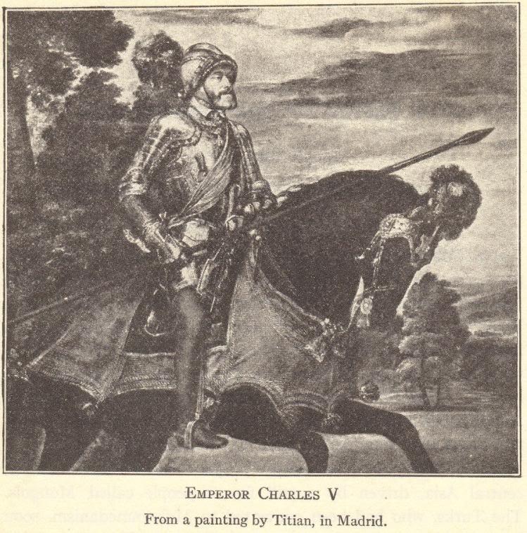 Holy Roman Emperor Charles V on Horseback