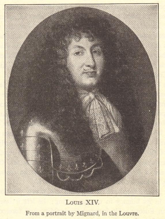 King Louis XIV of France (1638-1715)