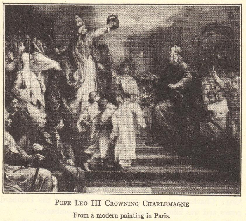 Coronation of Charlemagne (742-814 CE)