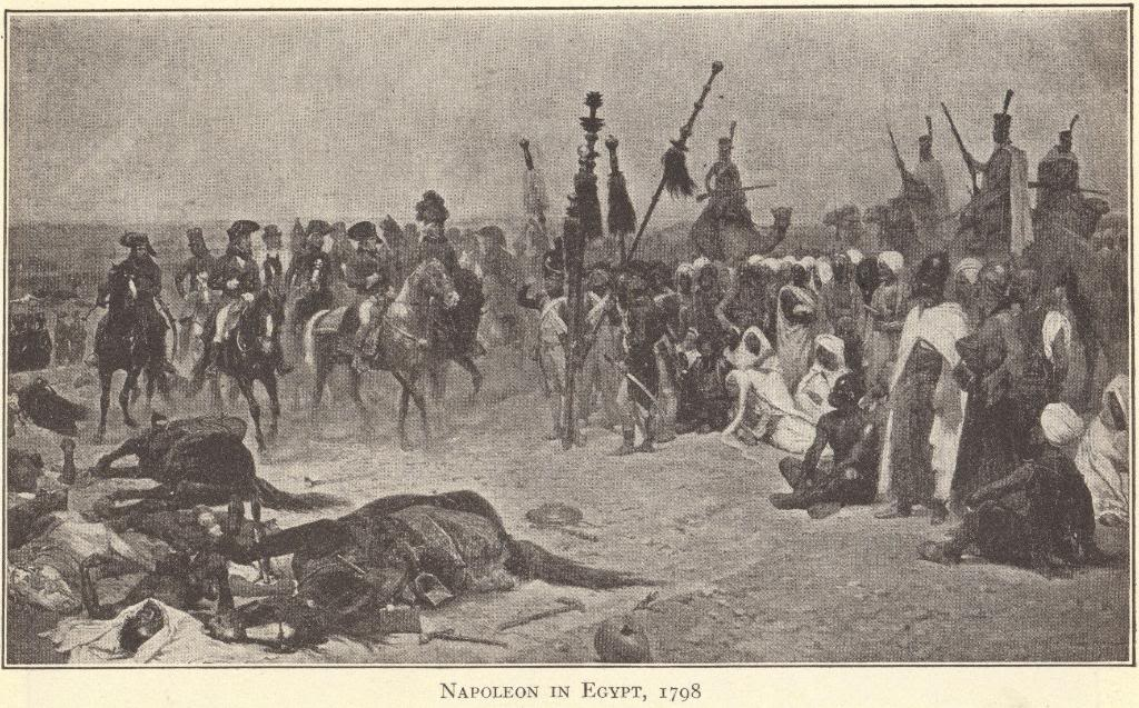 Napoleon Bonaparte in Egypt, 1798.