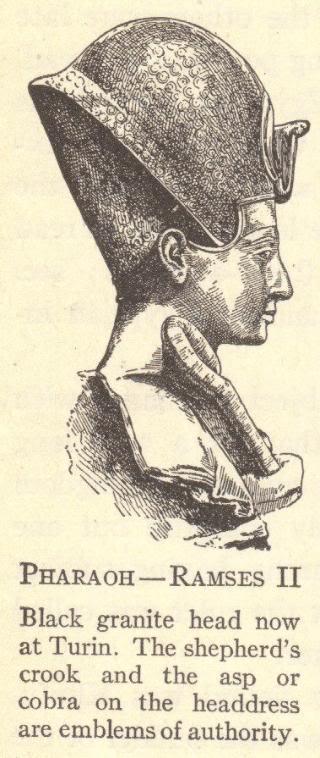 Pharaoh Ramses II of Egypt