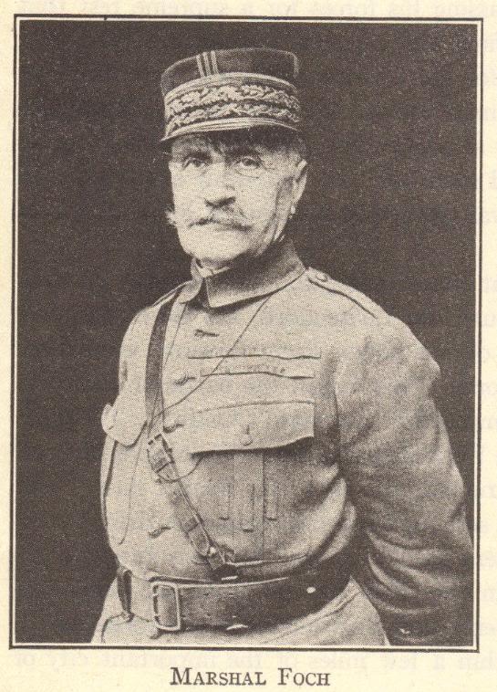 Marshal Ferdinand Foch (French, 1851-1929)