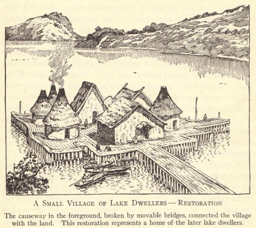 Village of Prehistoric Lake Dwellers