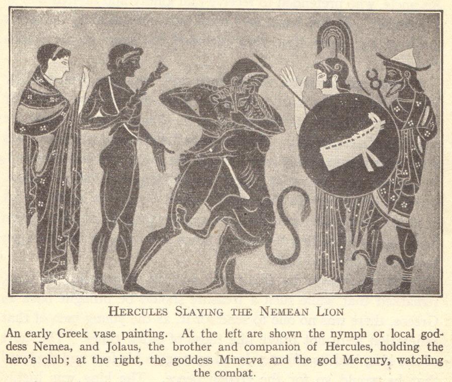 Hercules Slaying the Nemean Lion