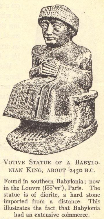 Votive Statue of a Babylonian King