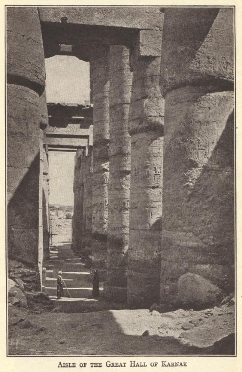 Great Hall at Karnak, Egypt