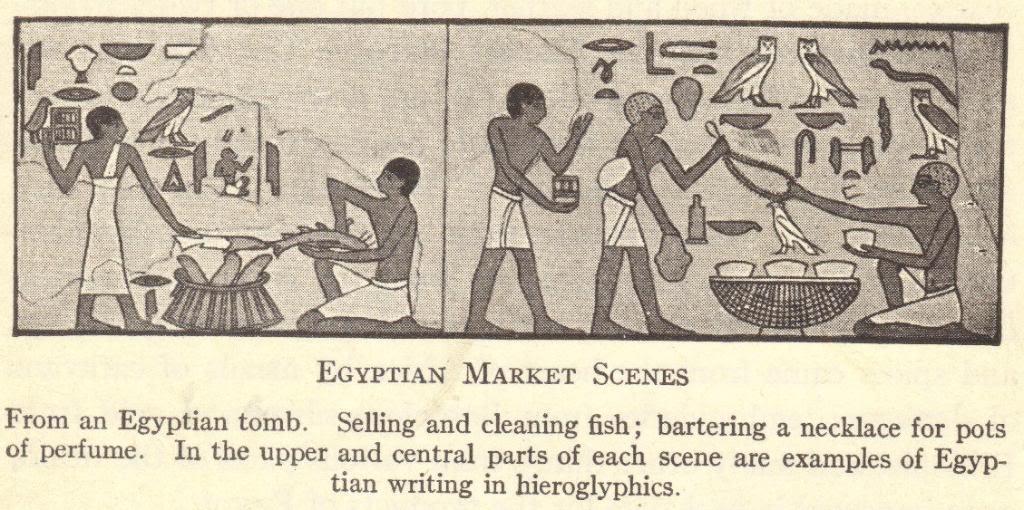 Ancient Egyptian Market Scenes