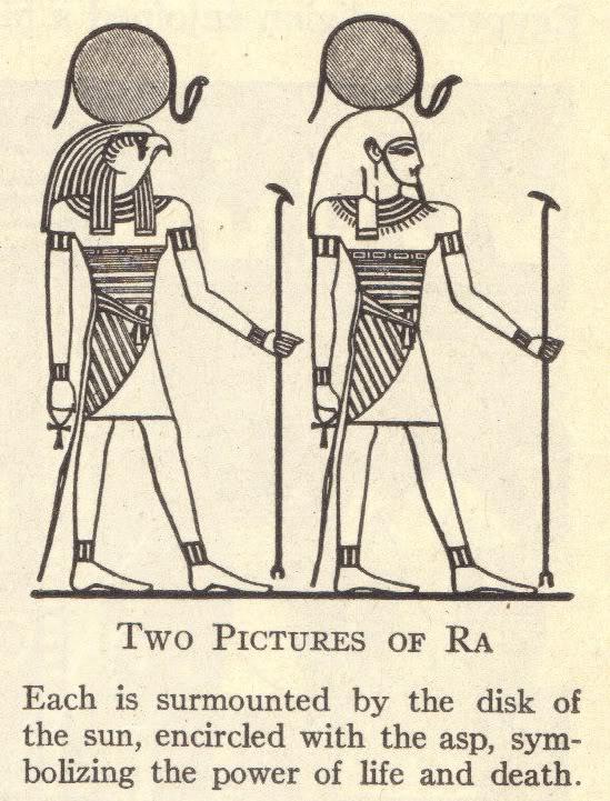Egyptian Sun God Ra
