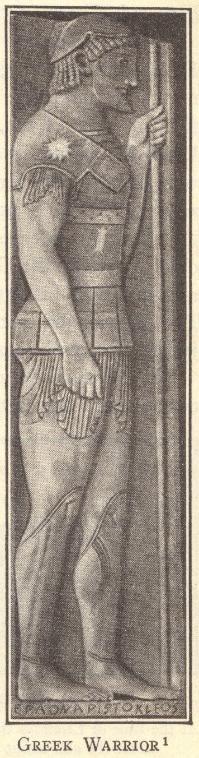 Ancient Greek Hoplite Soldier