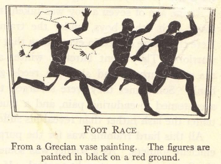 Ancient Greek Olympics: Foot Race