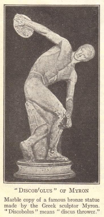 Discobolus of Myron (Ancient Greece)