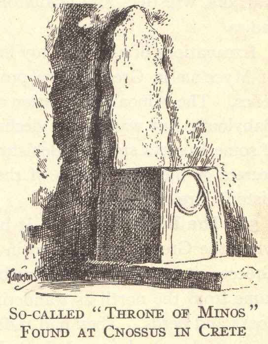 Throne of King Minos, Ancient Crete