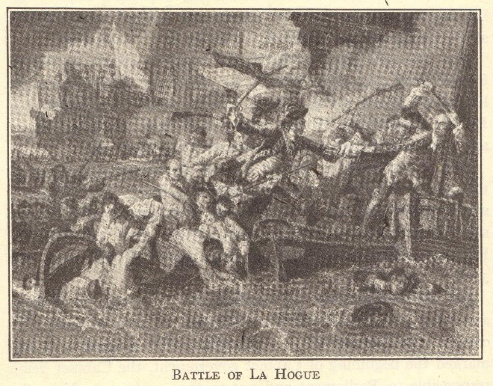 Battle of la Hogue, 1692