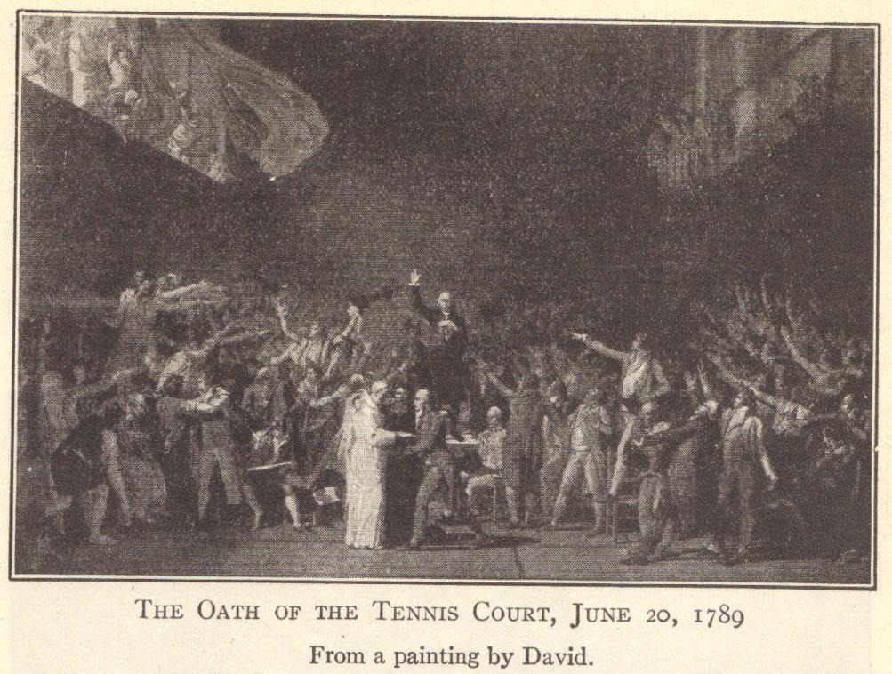 Tennis Court Oath, 1789