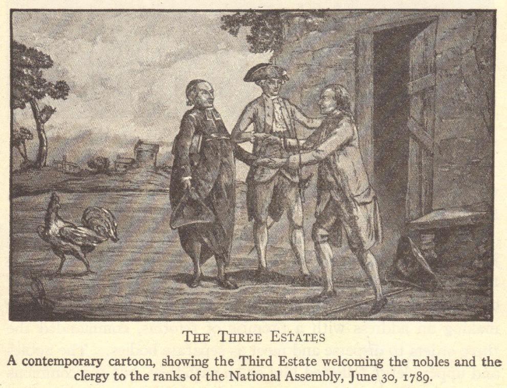 Three Estates of the Old Regime