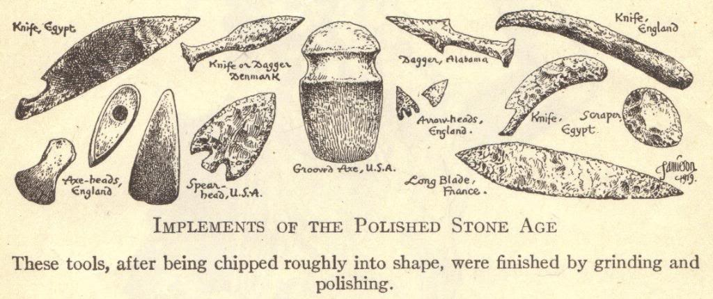 Late Stone Age Weapons and Tools