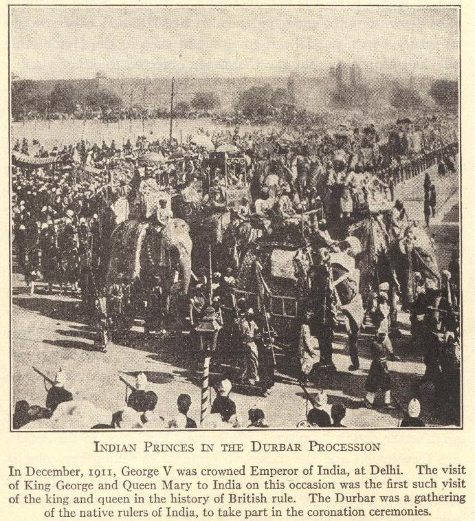 Indian Princes in the Durbar Procession, 1911