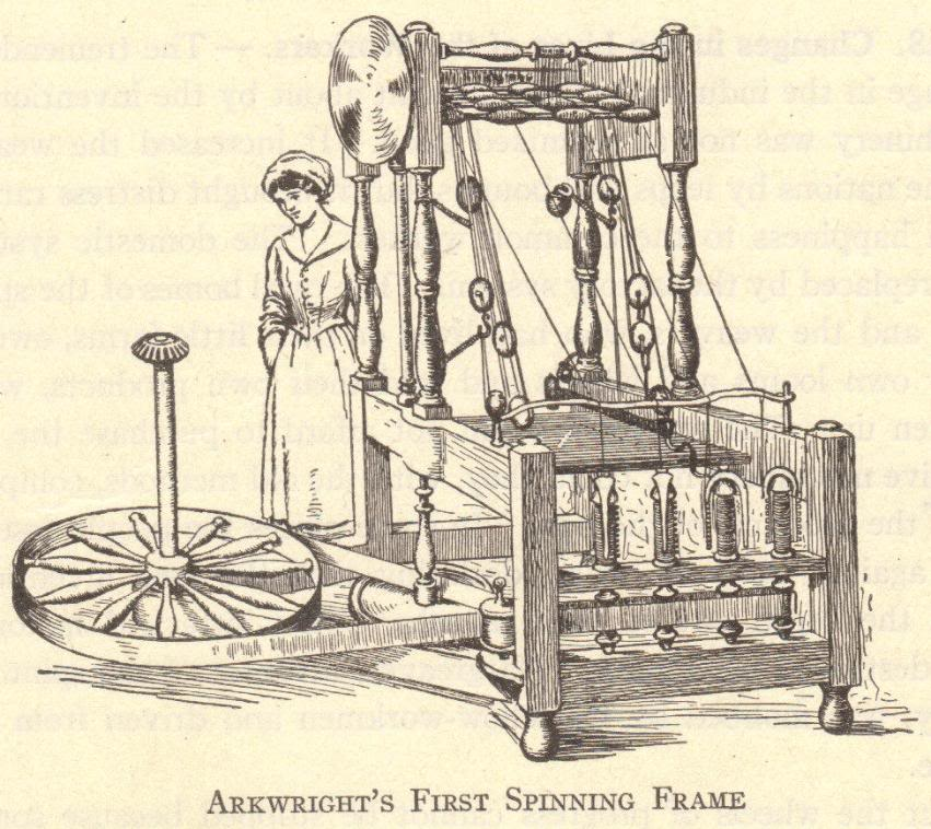 Richard Arkwright\'s First Spinning Frame | Student Handouts