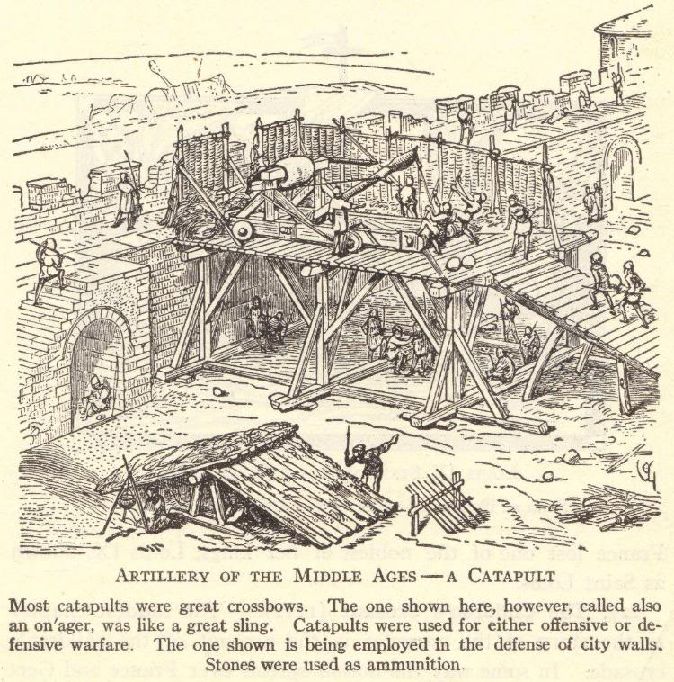 Catapult of the Middle Ages