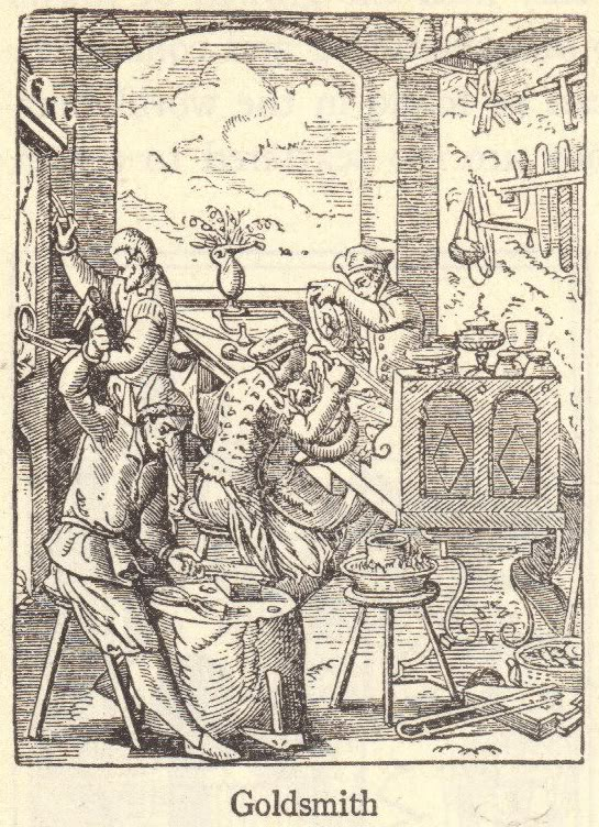 Medieval Goldsmith of Europe