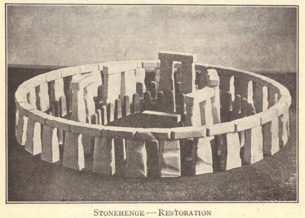 Stonehenge Scale Model
