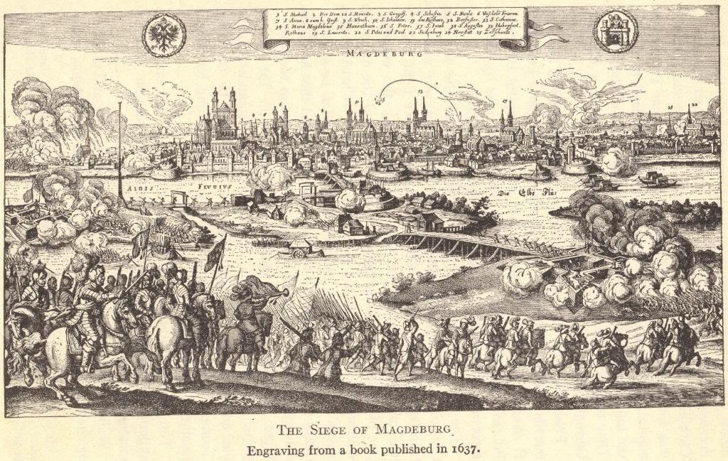 Sack (or Siege) of Magdeburg, 1630-1631