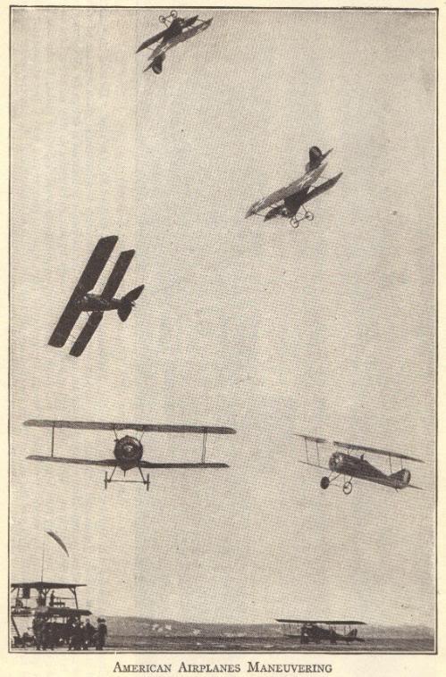 World War I American Airplanes