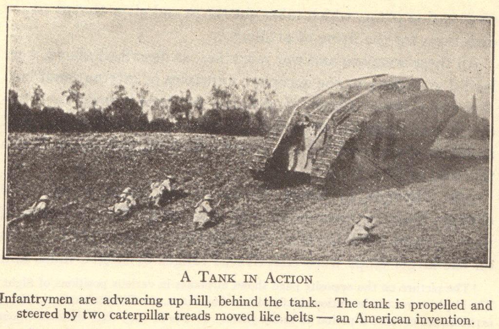 World War I Army Tank