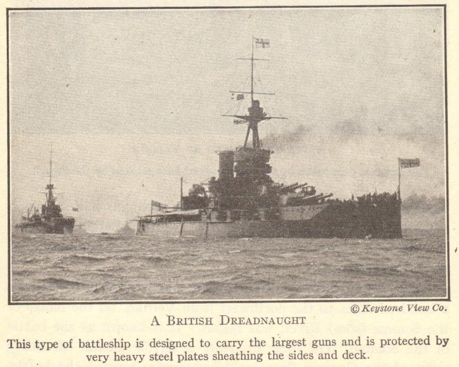 British Dreadnought Battleship