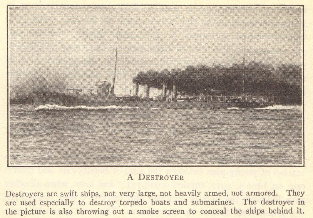 Naval Destroyer of WWI
