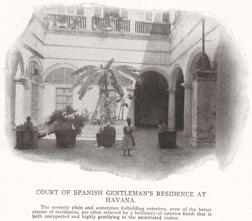 Spanish House in Havana, Cuba