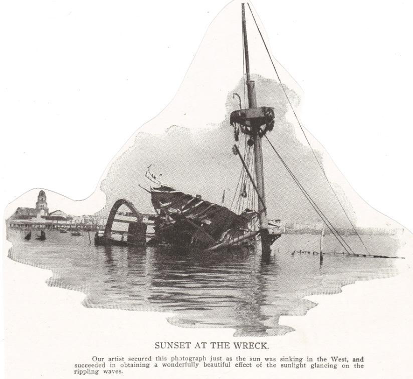 U.S.S. Maine Wreckage