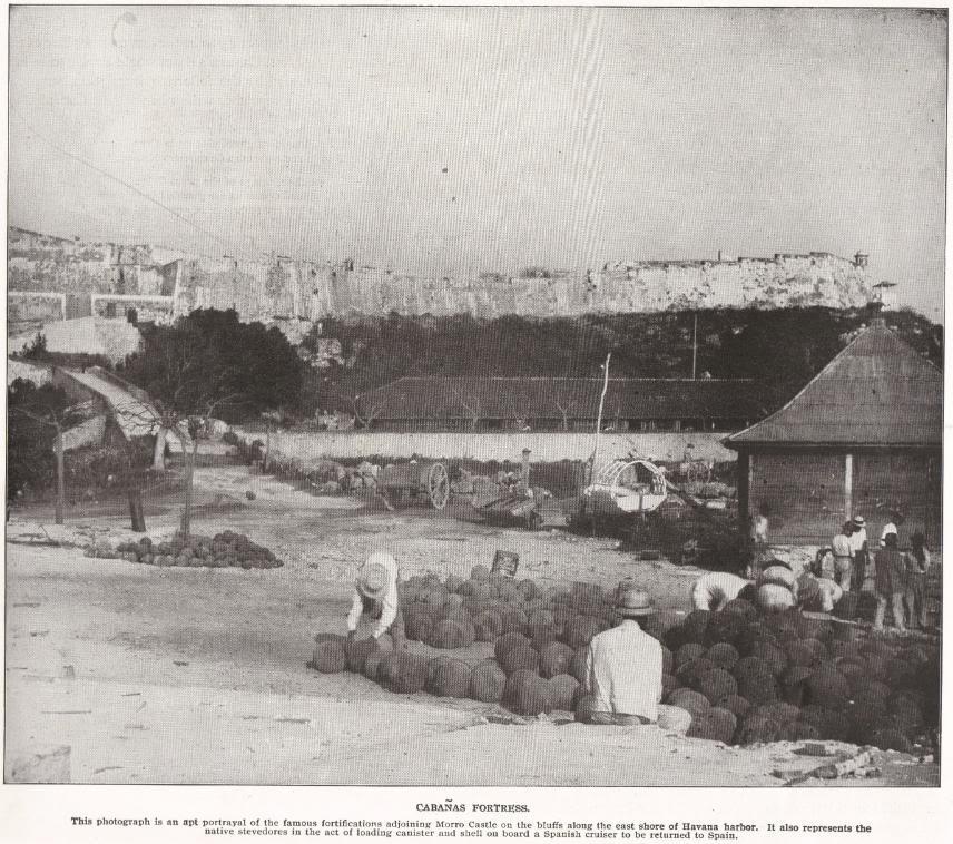 Cabanas Fortress, Cuba (1898)