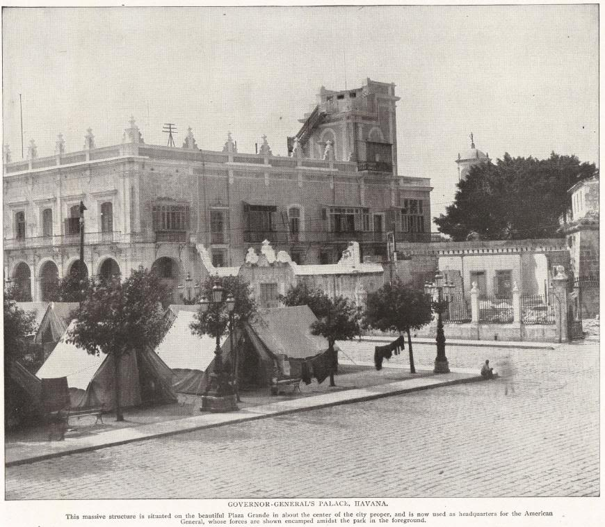 Governor-General's Palace in Havana, Cuba (1898)