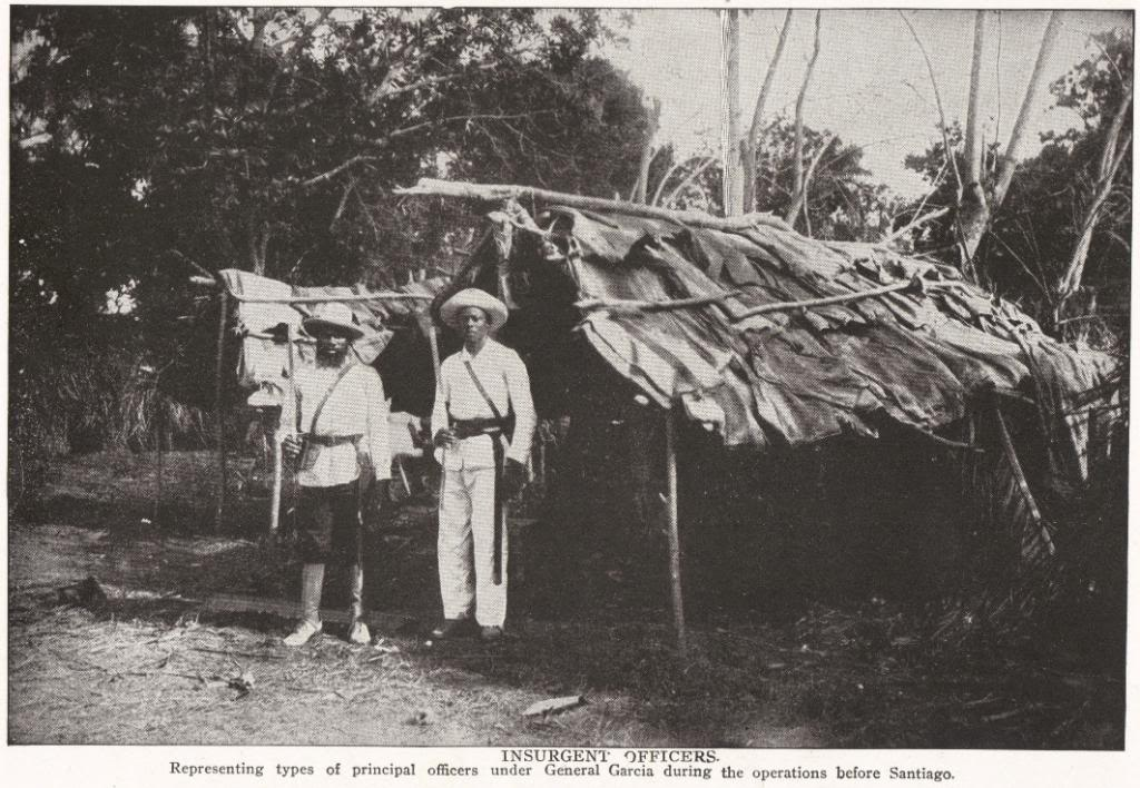 Insurgent Officers in Cuba, 1898