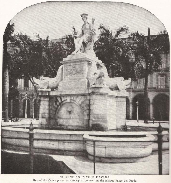 Indian Statue in Havana, Cuba