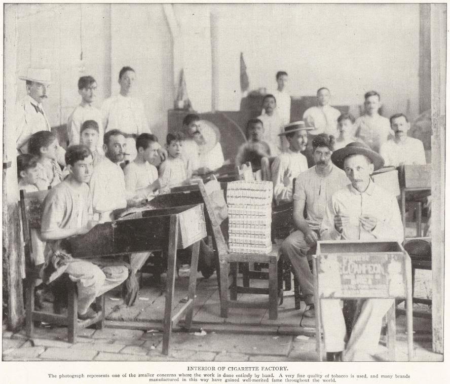 Cuban Cigar-Cigarette Factory
