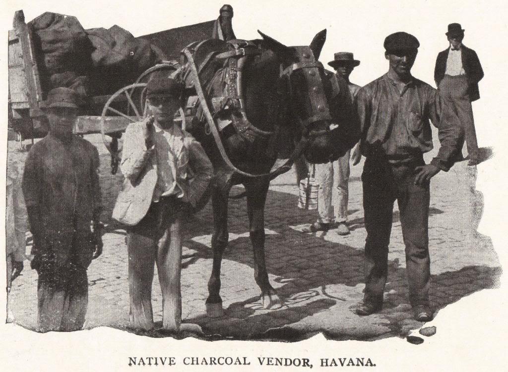 Havana Charcoal Vendor, Cuba (1898)