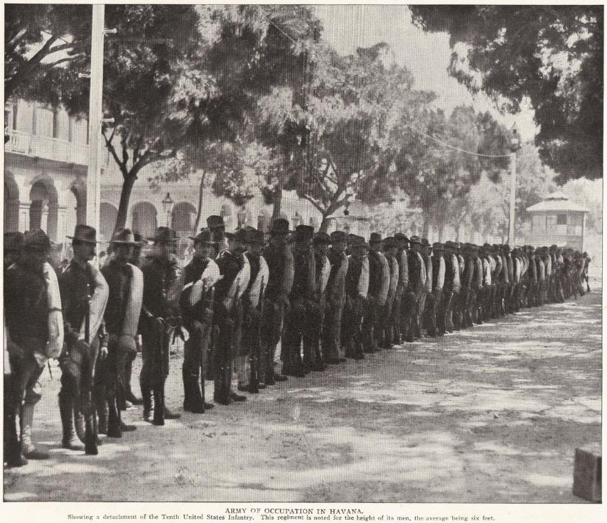 Tenth United States Infantry in Cuba, 1898