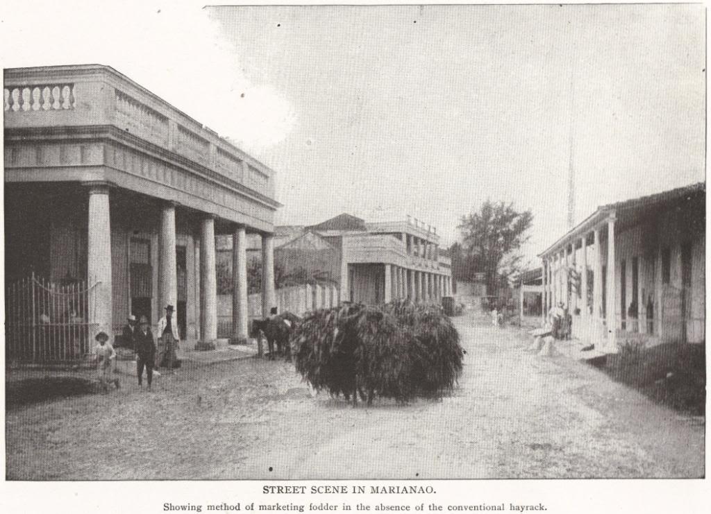Street Scene in Marianao, Cuba (1898)