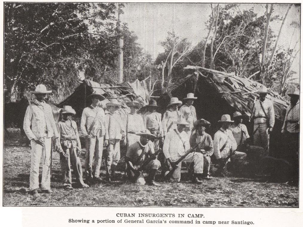 CUBAN INSURGENTS IN CAMP