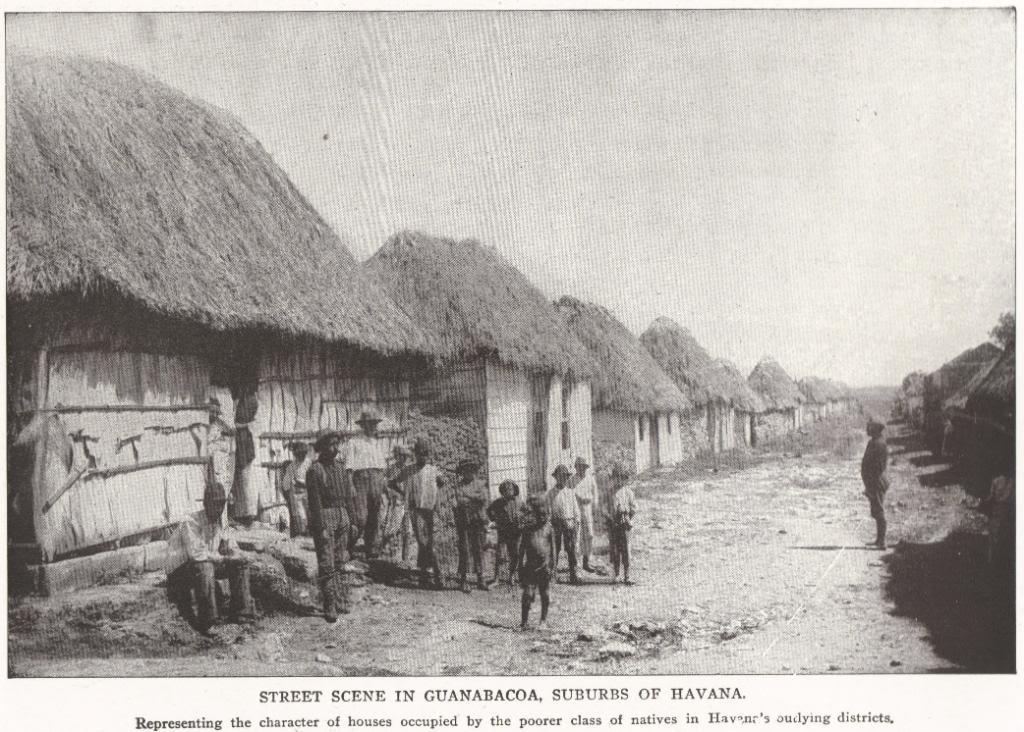Street Scene in Guanabacoa, Cuba (1898)