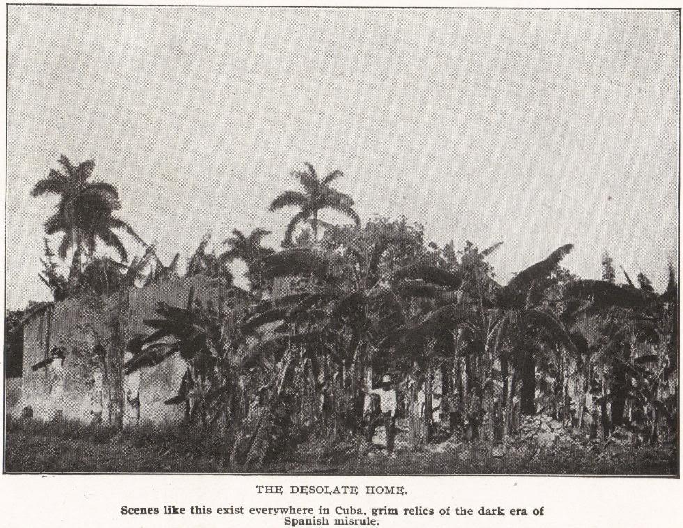 THE DESOLATE HOME, Cuba (1898)